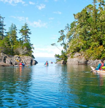 Kayaking - Great Bear Rainforest