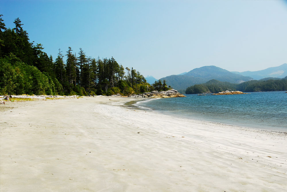 Beautiful Beaches - Great Bear Rainforest