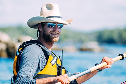BC kayak guide Dan