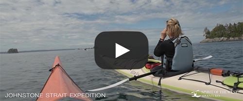 watch humpback kayaking video