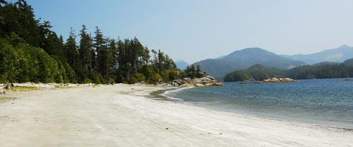west coast beaches kayak camping