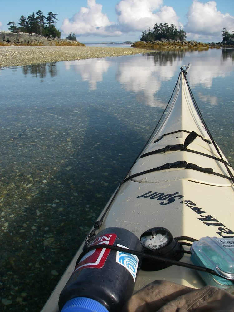 Great Bear Rainforest kayaking and beaches