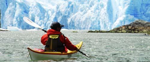 sea kayaking patagonia glaciers Laguna San Rafael