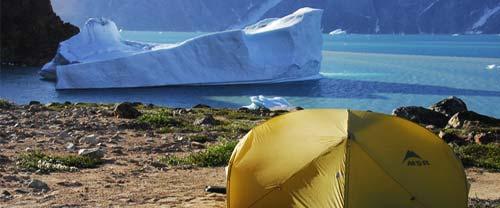 greenland kayaking camping icebergs