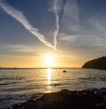 BC Beach Sunset