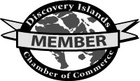 Discovery Islands Chamber of Commerce logo