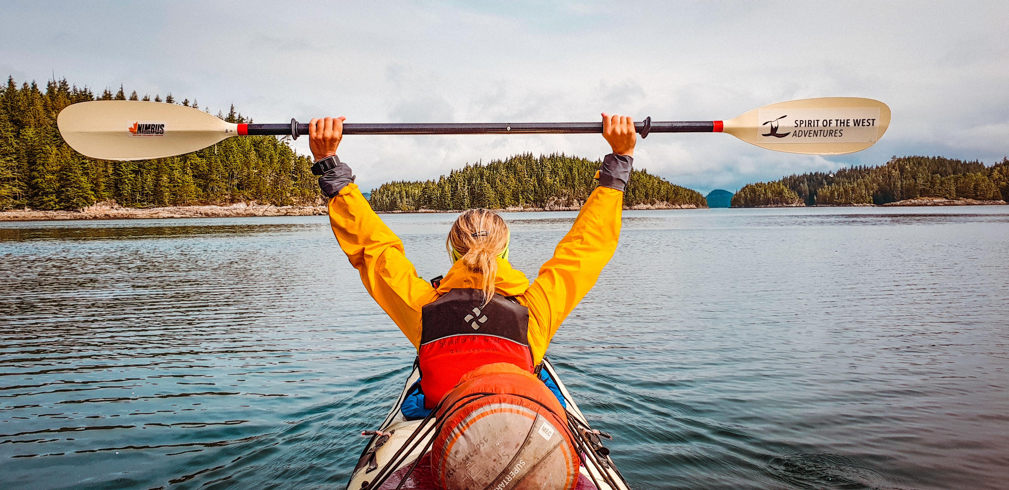 Kayaking in the Broughton Archipelago