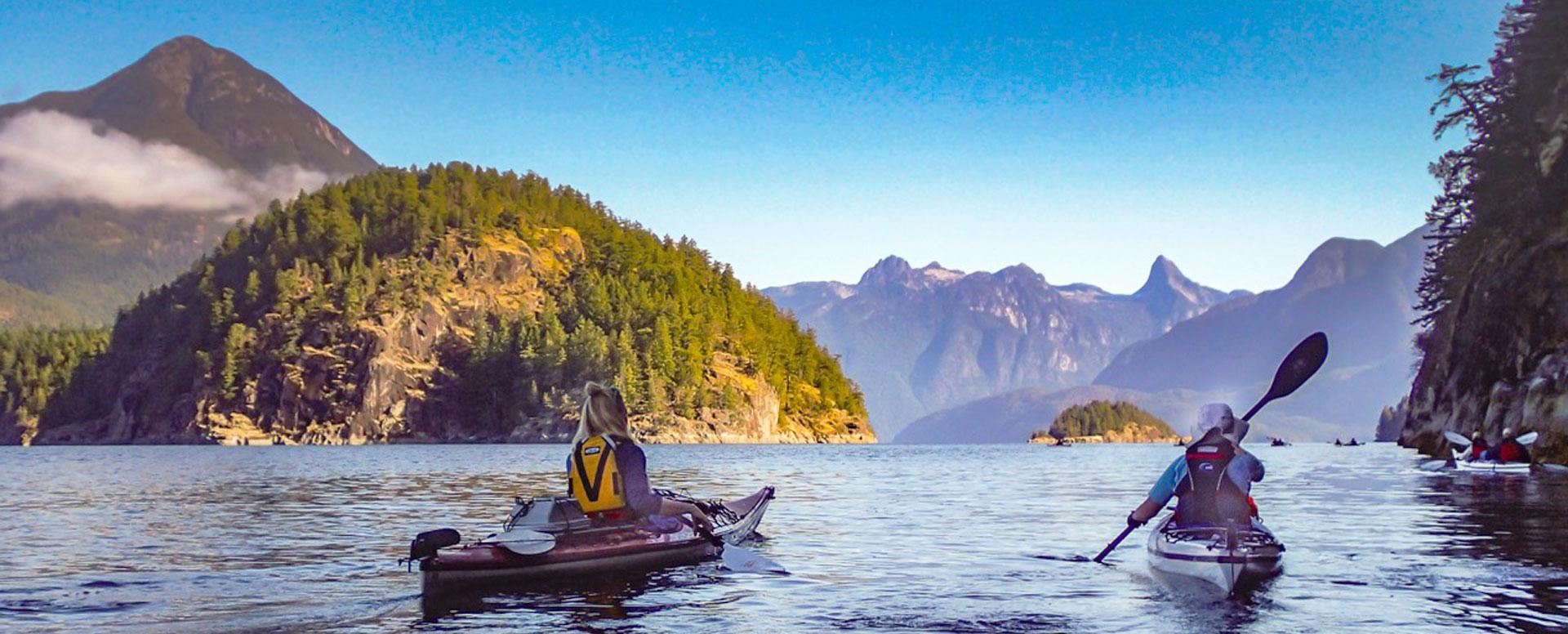 Kayaking Desolation Sound | Spirit of the West Adventures