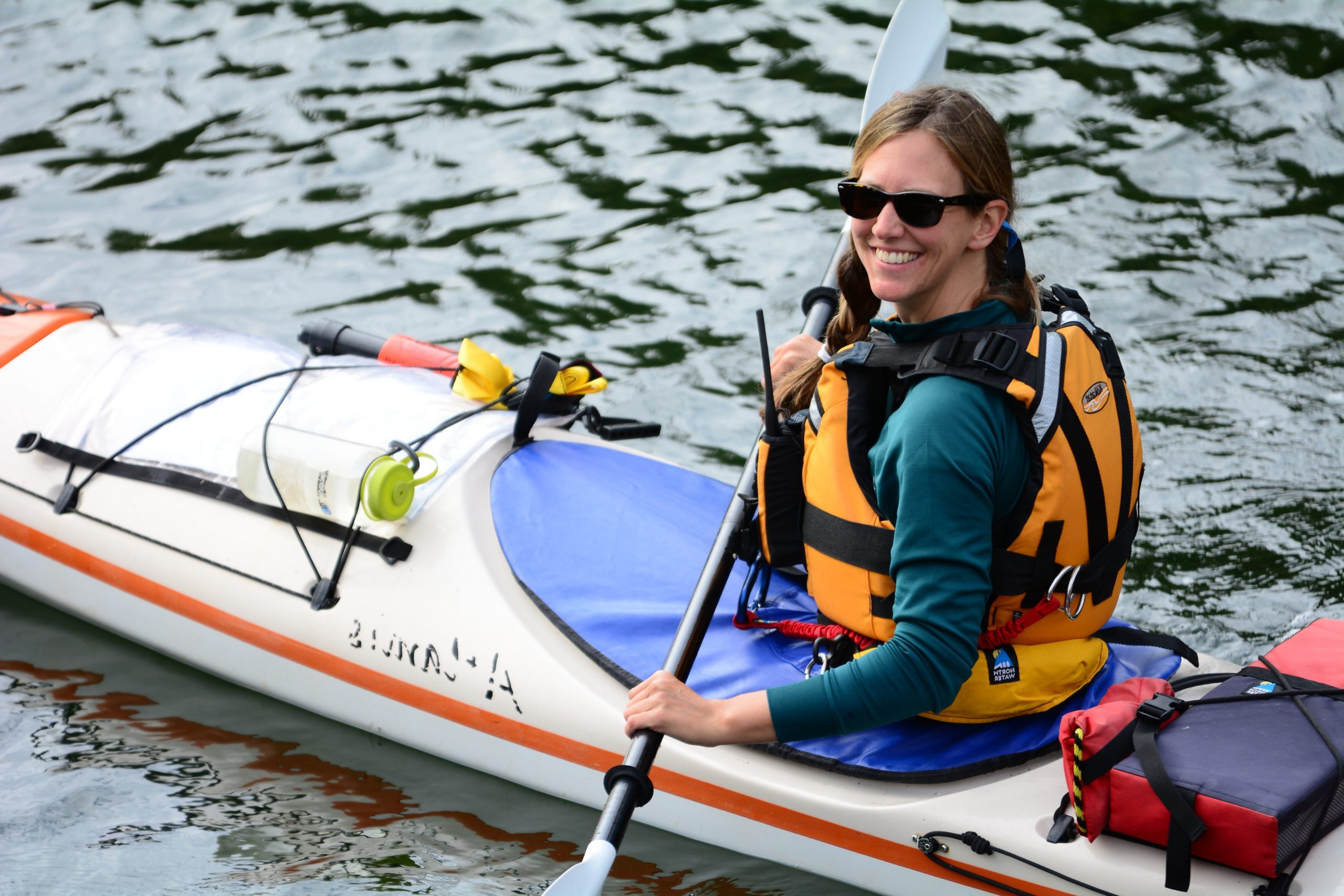 Kayak guide Jen
