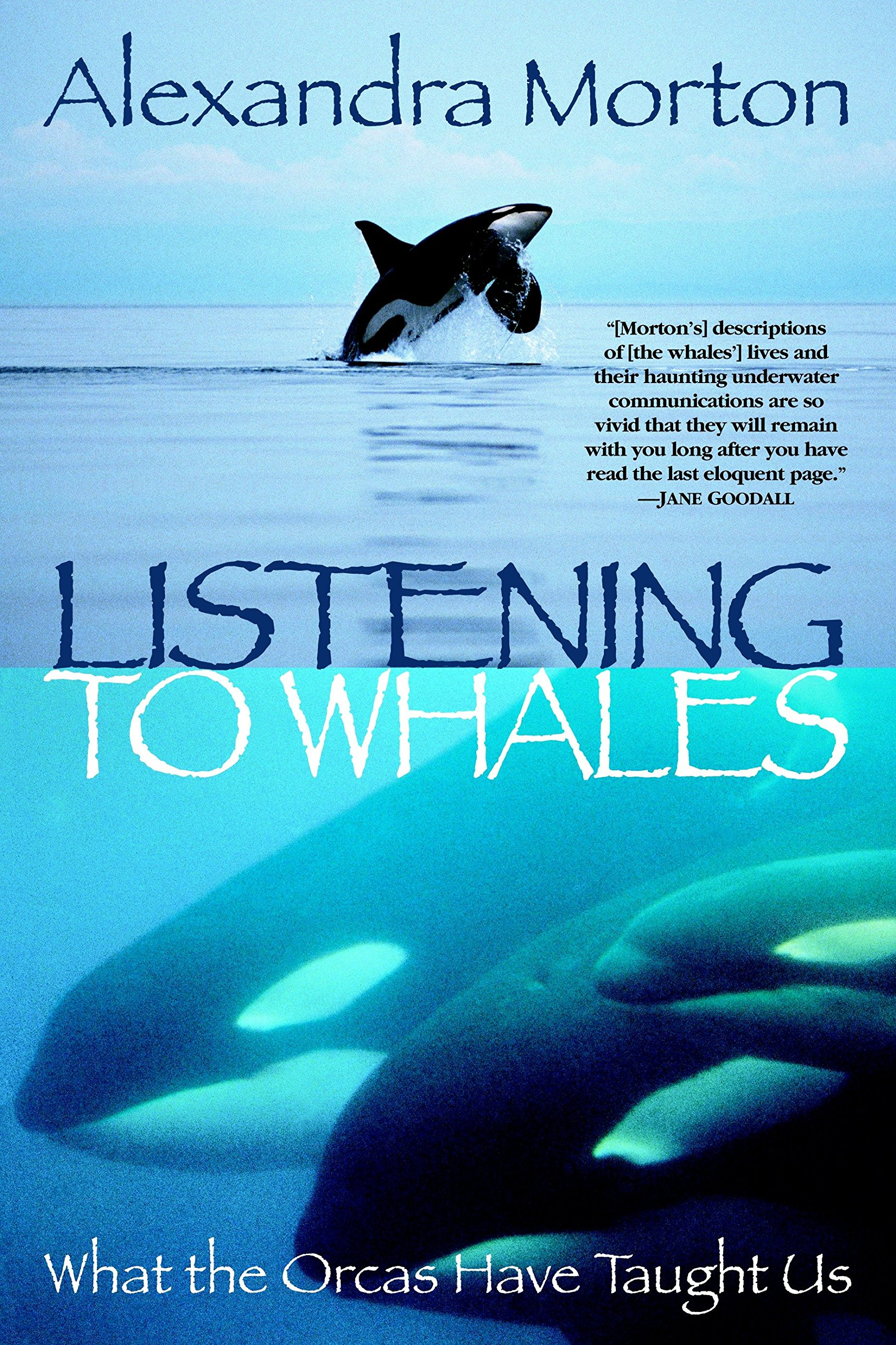 Book preview Listening to Whales
