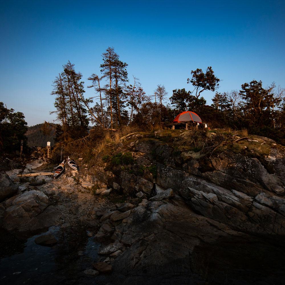 camping desolation sound